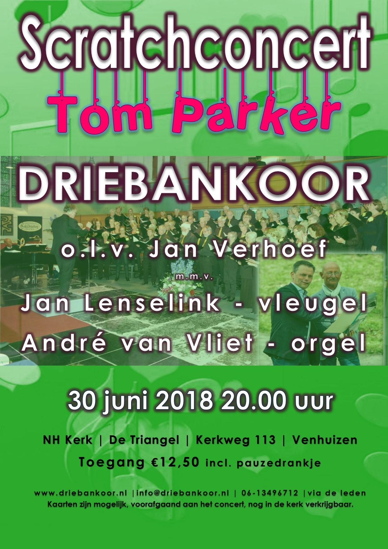 Scratch zomer concert 2018 Driebankoor